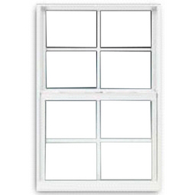 BetterBilt 24-in x 60-in 3000TX Series Double Pane Single Hung Window
