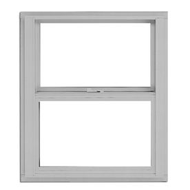 BetterBilt 3000TX Aluminum Single Pane Single Strength New Construction Egress Single Hung Window (Rough Opening: 36-in x 60-in; Actual: 35.375-in x 59.5625-in)