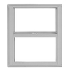 BetterBilt 24-in x 28-in 3000TX Series Aluminum Single Pane New Construction Single Hung Window