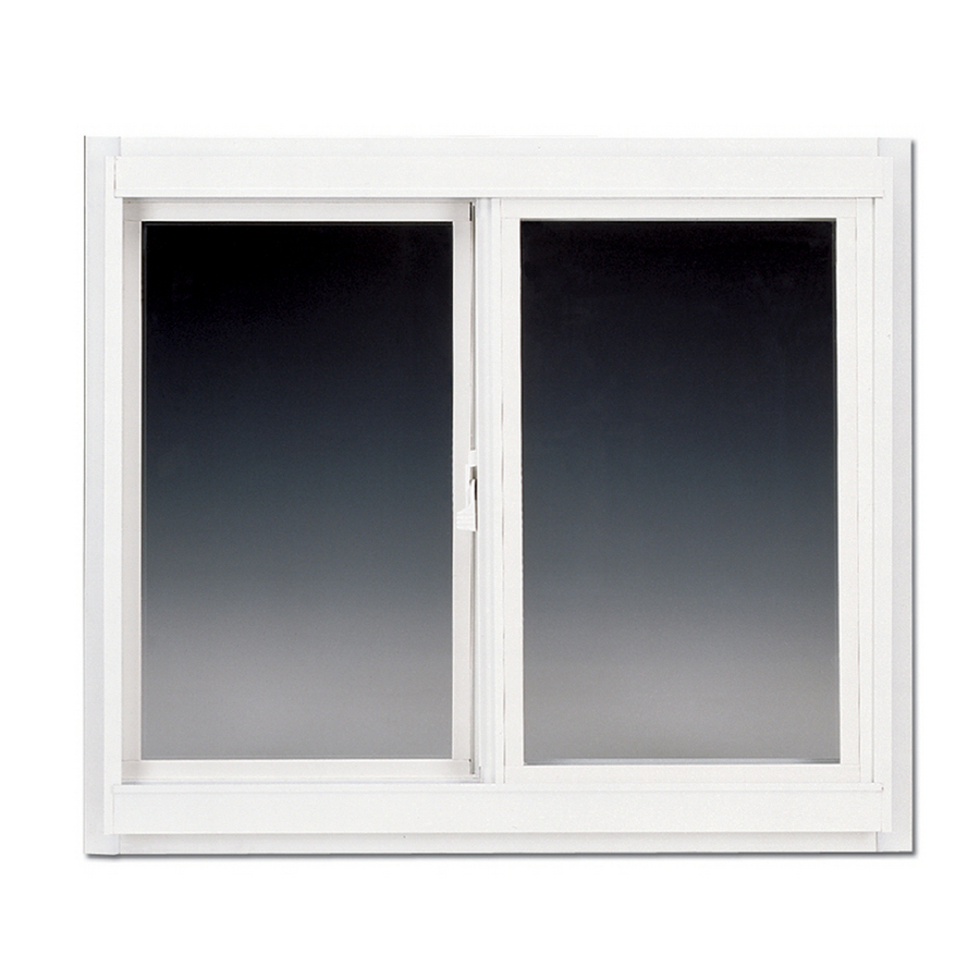 shop betterbilt 24 in x 12 in 3000tx series left operable aluminum double pane new construction