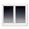 BetterBilt 24-in x 12-in 3000TX Series Left-Operable Aluminum Double Pane New Construction Sliding Window