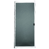 RITESCREEN White Steel Sliding Screen Door (Common: 36-in x 80-in; Actual: 36-in x 80.125-in)