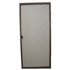 RITESCREEN Bronze Steel Sliding Screen Door (Common: 36-in x 80-in; Actual: 36-in x 80.125-in)
