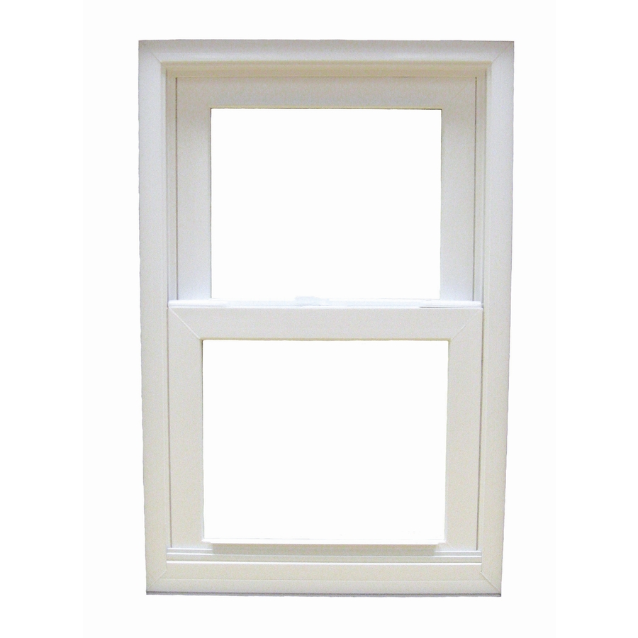 shop betterbilt 36 in x 38 in 1650 series vinyl double On double hung replacement windows
