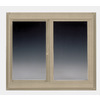 BetterBilt 72-in x 72-in 5800 Series Left-Operable Vinyl Double-Pane Sliding Window