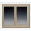BetterBilt 96-in x 48-in 5800 Series Both-Operable Vinyl Double Pane New Construction Sliding Window