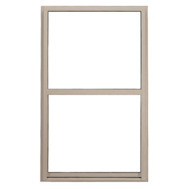 BetterBilt 5500 Series Vinyl Double Pane Double Strength New Construction Single Hung Window (Rough Opening: 24-in x 36-in; Actual: 23.5-in x 35.5-in)