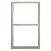 BetterBilt 5500 Series Vinyl Double Pane Double Strength New Construction Single Hung Window (Rough Opening: 24-in x 48-in; Actual: 23.5-in x 47.5-in)