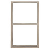 BetterBilt 5500 Series Vinyl Double Pane Double Strength New Construction Egress Single Hung Window (Rough Opening: 48-in x 60-in; Actual: 47.5-in x 59.5-in)