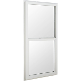 BetterBilt 5500 Series Vinyl Double Pane Single Strength New Construction Single Hung Window (Rough Opening: 24-in x 48-in; Actual: 23.5-in x 47.5-in)
