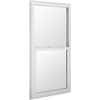 BetterBilt 5500 Series Vinyl Double Pane Single Strength New Construction Egress Single Hung Window (Rough Opening: 36-in x 60-in; Actual: 35.5-in x 59.5-in)