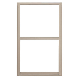 BetterBilt 5500 Series Vinyl Double Pane Single Strength New Construction Egress Single Hung Window (Rough Opening: 36-in x 72-in; Actual: 35.5-in x 71.5-in)