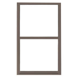 BetterBilt 865 Series Aluminum Double Pane Single Strength New Construction Single Hung Window (Rough Opening: 36-in x 48-in; Actual: 35.5-in x 47.5-in)