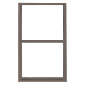 BetterBilt 865 Series Aluminum Double Pane Single Strength New Construction Egress Single Hung Window (Rough Opening: 36-in x 60-in; Actual: 35.5-in x 59.5-in)