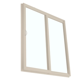 BetterBilt 71-1/2-in Low-E Clear Vinyl Sliding  Patio Door