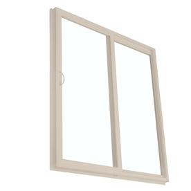 BetterBilt 95-1/2-in Low-E Clear Vinyl Sliding  Patio Door