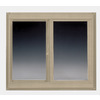 BetterBilt 60-in x 48-in 360 Series Left-Operable Vinyl Double Pane Sliding Window