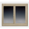 BetterBilt 72-in x 48-in 360 Series Left-Operable Vinyl Double Pane Sliding Window