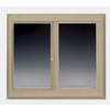BetterBilt 72-in x 72-in 360 Series Left-Operable Vinyl Double Pane Sliding Window