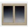 BetterBilt 96-in x 60-in 365 Series Both-Operable Vinyl Double Pane Sliding Window