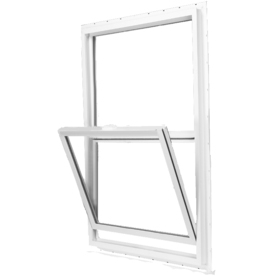 BetterBilt 350 Series Vinyl Double Pane Single Strength New Construction Egress Single Hung Window (Rough Opening: 36-in x 72-in; Actual: 35.5-in x 71.5-in)