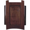 Heath Zenith Mahogany Finish Doorbell