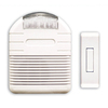 Heath Zenith Wireless White Doorbell Kit
