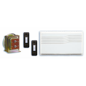 Utilitech White Doorbell Kit