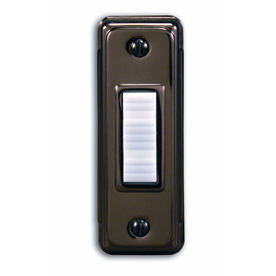 Utilitech Bronze Doorbell Push Button