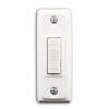 Utilitech White Doorbell Push Button