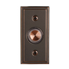 Utilitech Antique Copper Doorbell Push Button