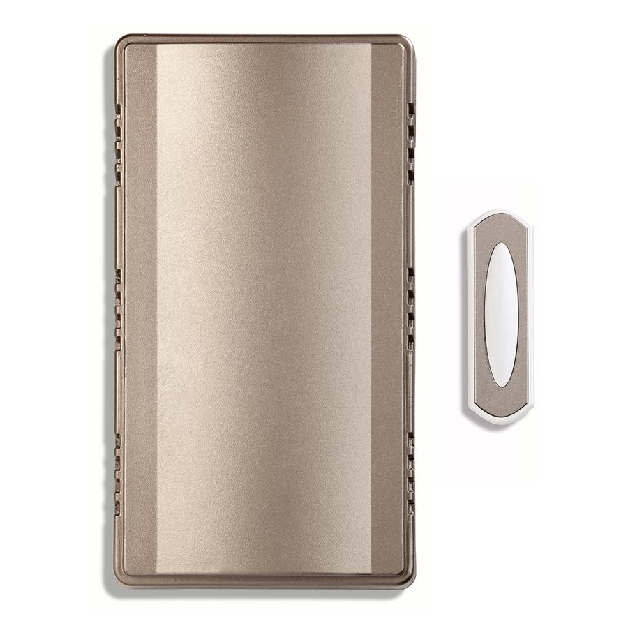 Shop Utilitech Nickel Wireless Doorbell Kit at Lowes.com