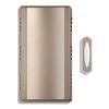 Utilitech Nickel Wireless Doorbell Kit