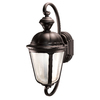 Heath Zenith Secure Home 19-in H Oil-Rubbed Bronze Motion Activated Outdoor Wall Light