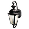 Heath Zenith 19-in Oil Rubbed Bronze Motion Activated Outdoor Wall Light