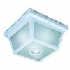 Heath Zenith 5.5-in H White Motion Activated Outdoor Wall Light