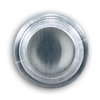 Heath Zenith Wired Satin Nickel Push Button Insert With Lifetime Finish And LED Halo-Lighted