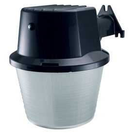 Utilitech 42-Watt Black CFL Dusk-To-Dawn Security Light