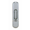 Heath Zenith Wireless Satin Nickel Doorbell Push Button (Batteries Included)
