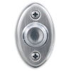 Heath Zenith Wired Satin Nickel Push Button With Lifetime Finish And LED Halo-Lighted Center