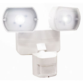 Secure Home 180-Degree 2-Head LED Motion-Activated Flood Light