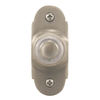 Heath Zenith Wired Satin Nickel Push Button With Lighted Center