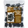 Fi-Shock 25-Pack Black Plastic T-Post Insulators