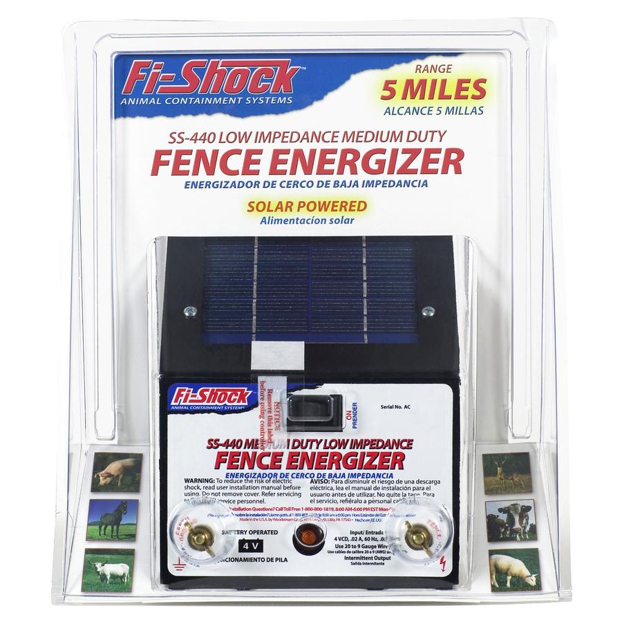 Shop Fi Shock 10 Mile 8 Volt Solar Operated Pet Electric
