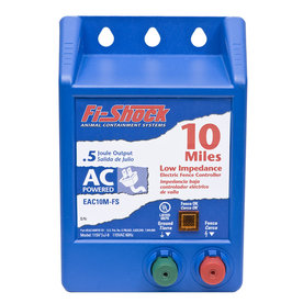 Fi-Shock 10-Mile AC Hardwired Electric Fence Charger
