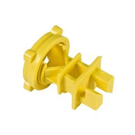 Fi-Shock 25-Pack Yellow Plastic Round/Rod Insulator