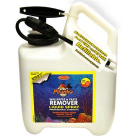 shop piranha liquid wallpaper remover in pump up sprayer