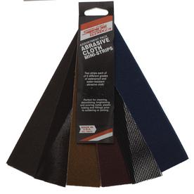 Superior Tool Abrasive Cloth Mini Strips