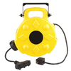 Bayco 50-ft 3-Outlet Plastic Retractable Cord Reel