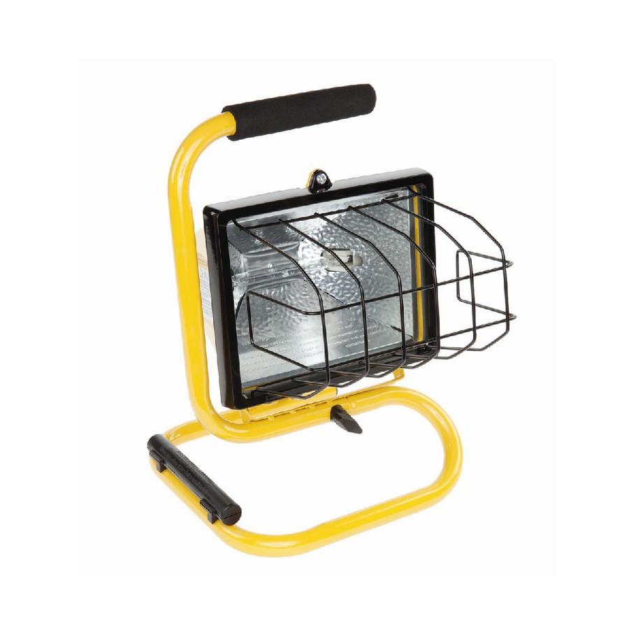 Halogen Lights For Shop: Shop Utilitech 500-Watt Halogen Portable Work Light At